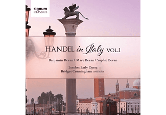 Sophie Bevan, Mary  Bevan, Benjamin Bevan, London Early Opera, Bridget Cunningham - Händel In Italien Vol.1 [CD]