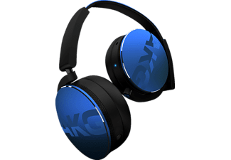 AKG Y50BT, On-ear Kopfhörer, Bluetooth, Blau