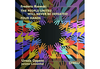 Ursula Oppens, Jerome Lowenthal - The People United Will Never Be Defeated! [CD]