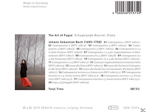 Schaghajegh Nosrati - The Art Of Fuge Bwv 1080 [CD]