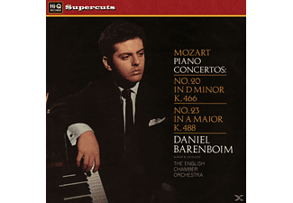 English Chamber Orchestra - Mozart/Piano Concertos (180 Gr.Audiophil Lp) - (Vinyl)