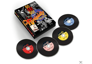 VARIOUS - Go Cat Go-Essential Rockabilly Collection (4cd) [CD]