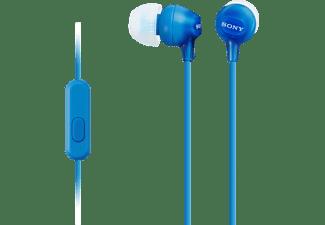 MDR-EX15AP in-ear hoofdtelefoon, Blauw