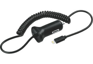 ISY USB Car Charger with lightning cable, 2.4 A, KFZ-Ladegerät