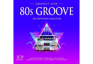 VARIOUS - 80s Groove-Greatest Ever [CD]