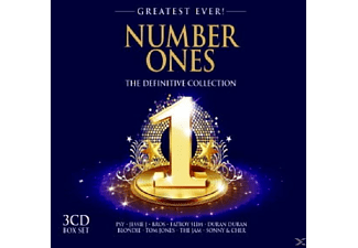 VARIOUS - Number Ones-Greatest Ever - (CD)