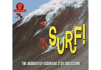 VARIOUS - Surf! Absolutely Essential - (CD)