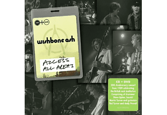 Wishbone Ash - Access All Areas - (CD + DVD Video)