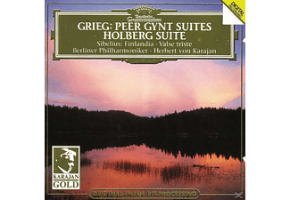 Carl August Nielsen, Herbert Von Bp/karajan - Peer Gynt Suiten 1, 2/Valse Triste/Finlandia [CD]