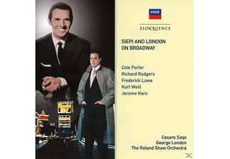 George London, Cesare Siepi - Siepi And London On Broadway - (CD)
