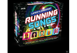VARIOUS - Latest And Greatest Running Songs - (CD)