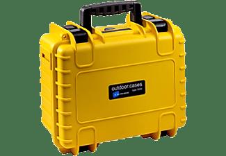 B&W Outdoor.Cases Type 3000 Geel / Leeg