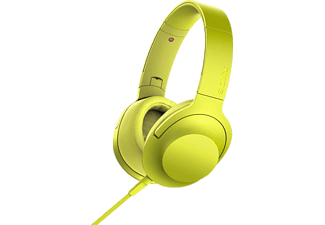 SONY H.ear on MDR-100AAP geel
