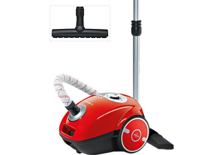 BOSCH BGL 35 MON 11 FLAMING RED Staubsauger mit Beutel, EEK: A, Flaming Red