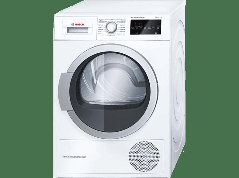 Bosch wtw85460 wärmepumpentrockner a 7 kg selbstreinigender
