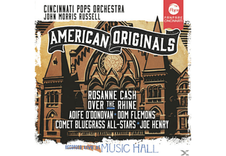 VARIOUS, Cincinnati Pops Orchestra - American Originals - (CD)