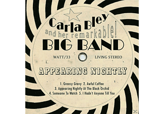 Carla Bley, Carla Big Band Bley - Appearing Nightly [CD]