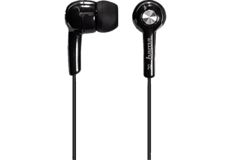 "HAMA ""Basic"" In-Ear Stereo Earphones, black - (135615)"