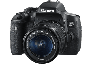 CANON EOS 750D + Φακός 18-55 IS STM - (0592C023AA)