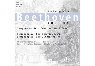 London Symphony Orchestra - Beethoven - Sinfonien 1+2 [CD]