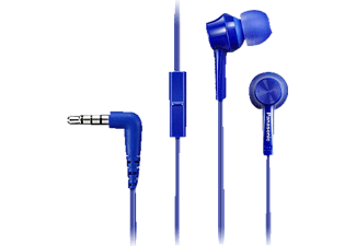 PANASONIC RP-TCM105 E-A, In-ear Headset, Blau