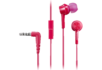 PANASONIC RP-TCM105 E-P, In-ear Headset, Pink