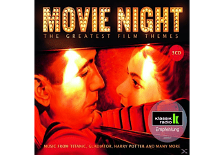 Grusin,Dave/Newman,Thomas/Hob/BP/Lapo/+ - Movie Night-The Greatest Film Themes [CD]