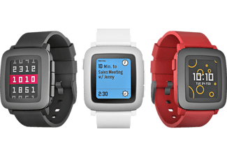 PEBBLE TIME Smartklocka - Vit