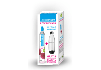 SODASTREAM Reserve Pack + Source Fles 1 l