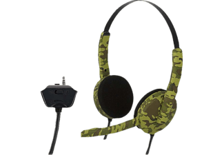 BIGBEN Stereo-Gaming-Headset Camouflage, Headset, 1.2 m