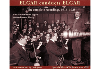 Edward & Symphony Orchestra Elgar - Elgar Conducts Elgar - The complete recordings 1914-1925 [Bo - (CD)
