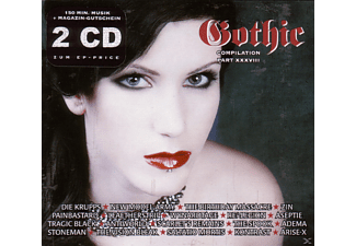 VARIOUS - Gothic Compilation 38+ Heftgutschein - (CD)