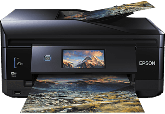 EPSON Expression Premium XP-830, 4-in-1 Tinten-Multifunktionsdrucker, Schwarz