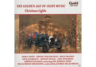 Faith/Chacksfield/Vaughn/Jones/Philipp/Black/+ - Christmas Lights - (CD)