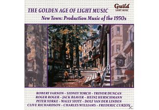 VARIOUS - New Town: Production Music of the 1950s - (CD)