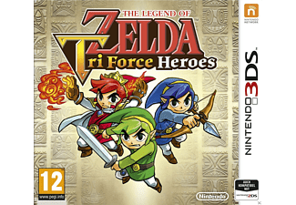 The Legend of Zelda: Tri Force Heroes (Nintendo 3DS)