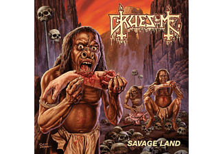 Gruesome - Savage Land (Black Vinyl+Mp3) [LP + Download]