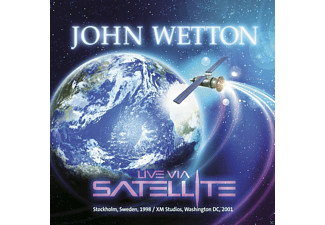 John Wetton - Live Via Satellite (2cd) [CD]