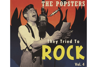 VARIOUS - The Popsters-They Tried To Rock, Vol.4 - (CD)