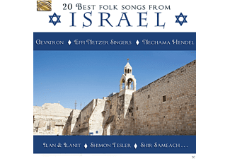 VARIOUS - 20 Best Folk Songs From Israel [CD]