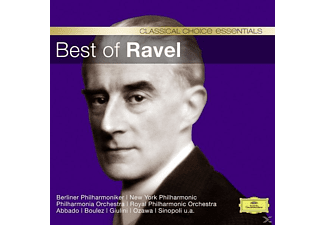 Boulez,P./Giulini,C.M./Von Karajan,H./+ - Best Of Ravel - (CD)