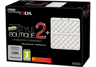 NINTENDO New 3DS (inkl. New Style Boutique 2 Fashion Forward, Cover Plate) - Vit