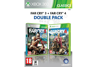 Compilation Far Cry 3, Far Cry 4 Xbox 360