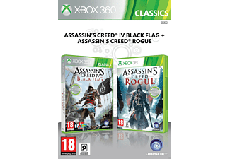 Complilation Assassin's Creed IV Black Flag + Assassin's Creed Rogue Xbox 360