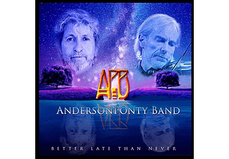 Anderson Ponty Band - Better Late Than Never (CD)