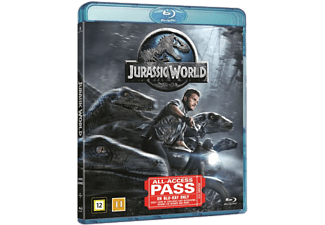 Jurassic World Action Blu-ray