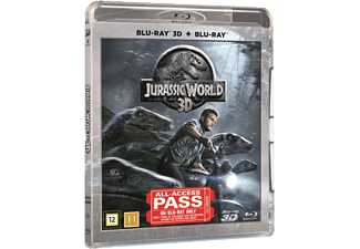 Jurassic World Action Blu-ray 3D