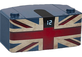 BIGBEN CD57BT Union Jack, CD Player, Motiv