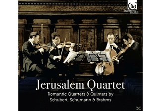 The Jerusalem Quartet, Various - Romantische Quartette & Quintette - (CD)