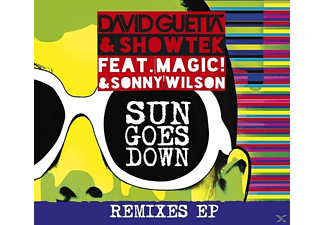 David Guetta & Showtek - Sun Goes Down - (CD)